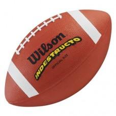 Топка за амрикански футбол Wilson TN Rubber Official size
