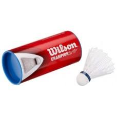 Пера за бадминтон Wilson Championship white 3 tube