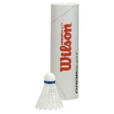 Пера за бадминтон Wilson Dropshot white 6 tube