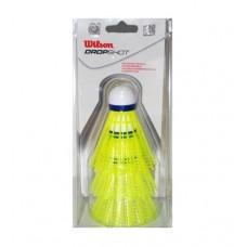 Пера за бадминтон Wilson Dropshot yellow 3